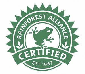 Rainforest Alliance Certified
